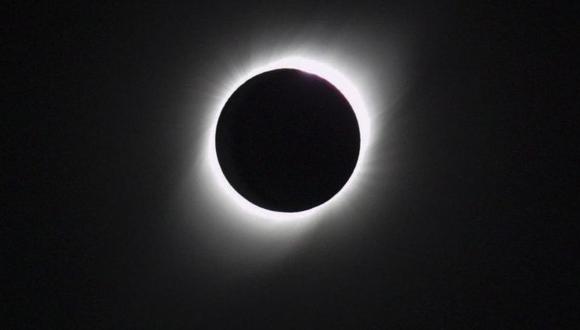 El pasado 2019, pudo disfrutarse de un eclipse solar total en Argentina. (Fuente: Getty Images)