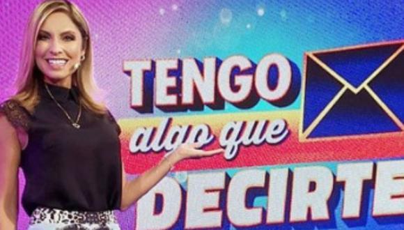 Karina Rivera dejará de conducir 'Tengo algo que decirte'. (Foto: Instagram)