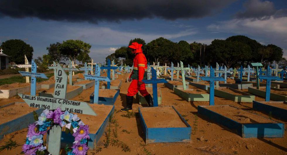 Coronavirus en Brasil   Últimas noticias   Último minuto: reporte de infectados y muertos por COVID-19 hoy, lunes 14 de junio del 2021. (Foto: AFP / MICHAEL DANTAS).