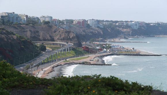 En Lima Oeste, la temperatura máxima llegaría a 23°C, mientras que la mínima sería de 17°C. (Foto: Lino Chipana/GEC)