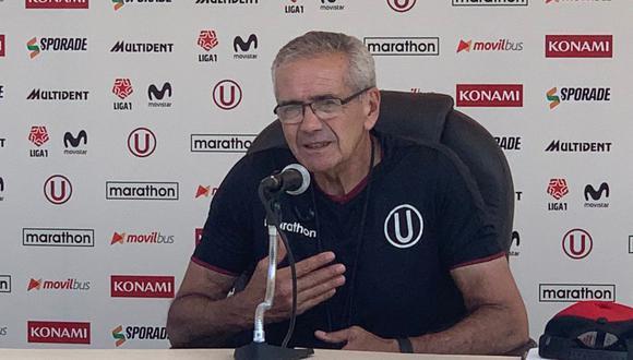 Gregorio Pérez fue anunciado como entrenador de Universitario de Deportes en diciembre del 2019. (Foto: GEC)