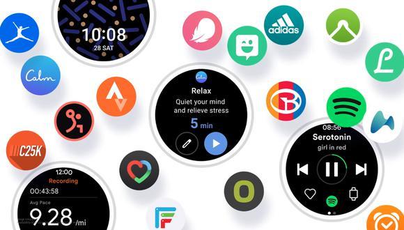 One UI watch. (Imagen: Samsung / Google)