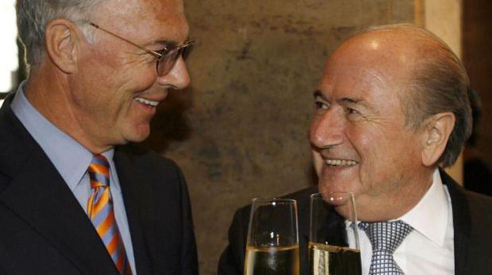 Beckenbauer pactó con dirigente FIFA antes de Mundial 2006 - 2