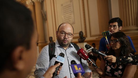 Columbus indicó que Fuerza Popular aún no tiene una posición definida sobre si otorgará o no el voto de confianza. (Foto: GEC)