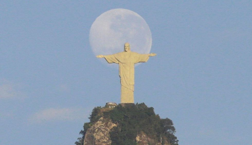 Cristo Redentor en Río de Janeiro. (Foto: EFE)