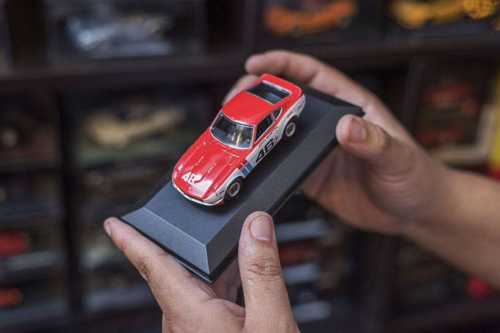 La marca Corgi fue la primera en lanzar un modelo con ventanas de plástico transparente. (Foto: Omar Lucas)