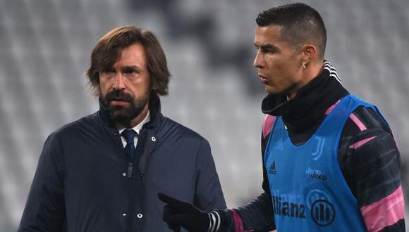 Andrea Pirlo reconoció que hay decepción en el equipo tras la eliminación de la Champions League. (Foto: AFP)