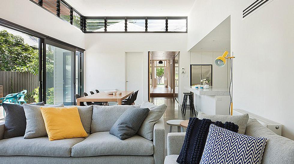 Mira la 'Casa rectángulo' inspirada en esta forma geométrica - 3