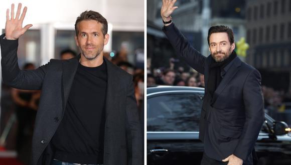 Hugh Jackman celebra el cumpleaños de Ryan Reynolds con curiosa fotografía en Twitter | Foto: EFE