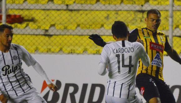 The Strongest vs. Libertad juegan HOY por la Copa Libertadores. (Foto: Agencias)
