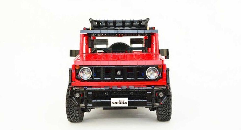 Por el momento, el Suzuki Jimny de Lego no está oficialmente a la venta. Sin embargo, su creador ofrece una lista con piezas que te permitirán armarlo. (Fotos: Lego Technic)