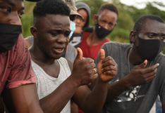 Madre de Dios: migrantes haitianos solicitan ayuda al Estado peruano para salir del país