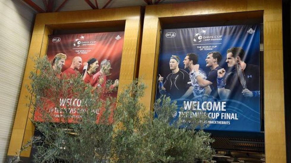 Copa Davis: Bélgica y Gran Bretaña igualan 1-1 en la final - 2