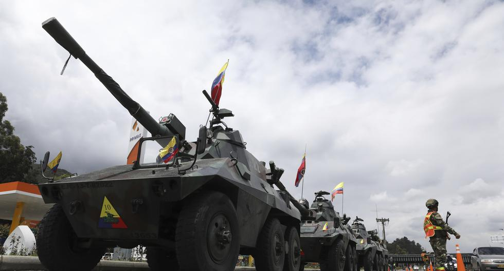 Who is behind the militarization of the streets in Colombia?