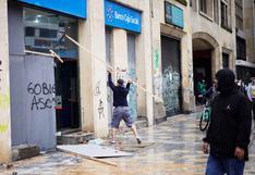 EN VIVO   Colombia: se registran fuertes disturbios y enfrentamientos en el centro de Bogotá