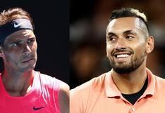 Rafael Nadal vs. Nick Kyrgios: guía de canales, horarios y cómo ver el partido por los cuartos de final del Australian Open 2020