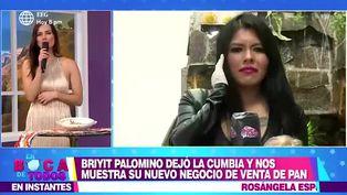 Briyit, la 'Vampiresa de la cumbia' se reinventa y ahora vende pan