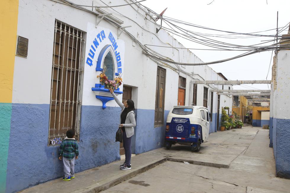Este es el estado de la quinta San José, en Barranco. (Foto Jessica Vicente)