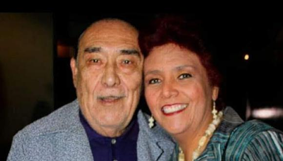 Don Óscar Avilés junto a su hija Lucy. (Foto: Archivo familiar)