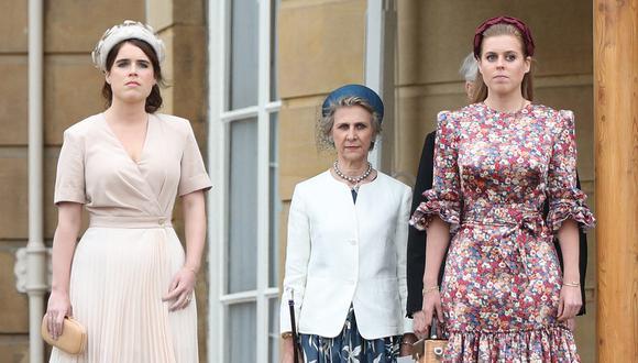 La princesa Eugenia de York felicitó públicamente a su hermana Beatriz de York y a su cuñado por el primer bebé que esperan. (Foto: Yui Mok / POOL / AFP)
