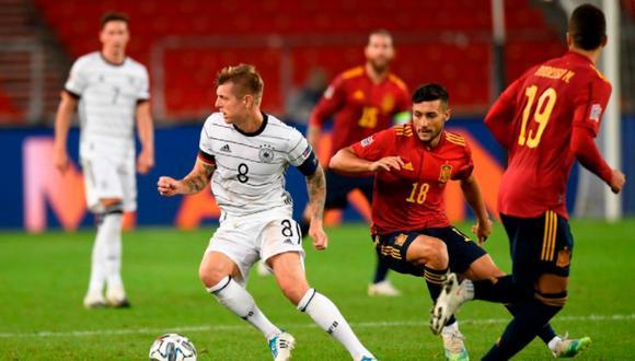 España y Alemania forman parte del grupo 4 de la Liga de Naciones. (Foto: UEFA)