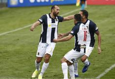 Con goles de Barcos, cuánto quedó Alianza Lima vs. Cusco FC hoy