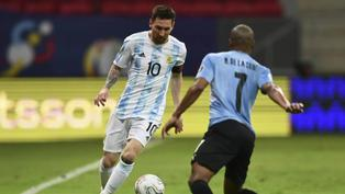 Copa América: Argentina venció 1 a 0 Uruguay en el Grupo A