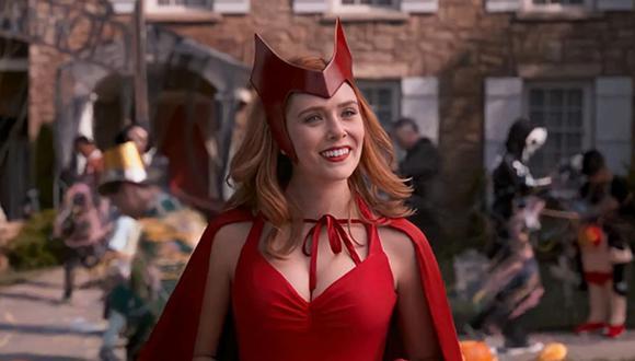"Elizabeth Olsen es la protagonista de ""WandaVision"", la primera serie del MCU (Foto: Disney+)"