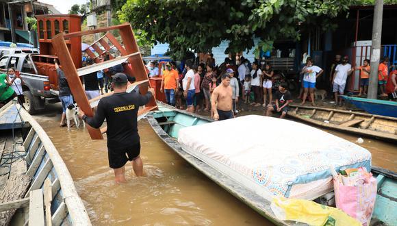 Autoridades solicitan ayuda logística para poder atender a todos los damnificados. (Foto: Municipalidad de Tambopata)