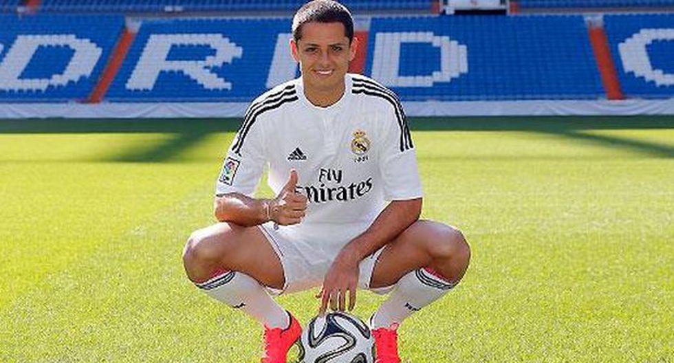 """'Chicharito' en el Real Madrid: """"Es un sueño hecho realidad"""""""