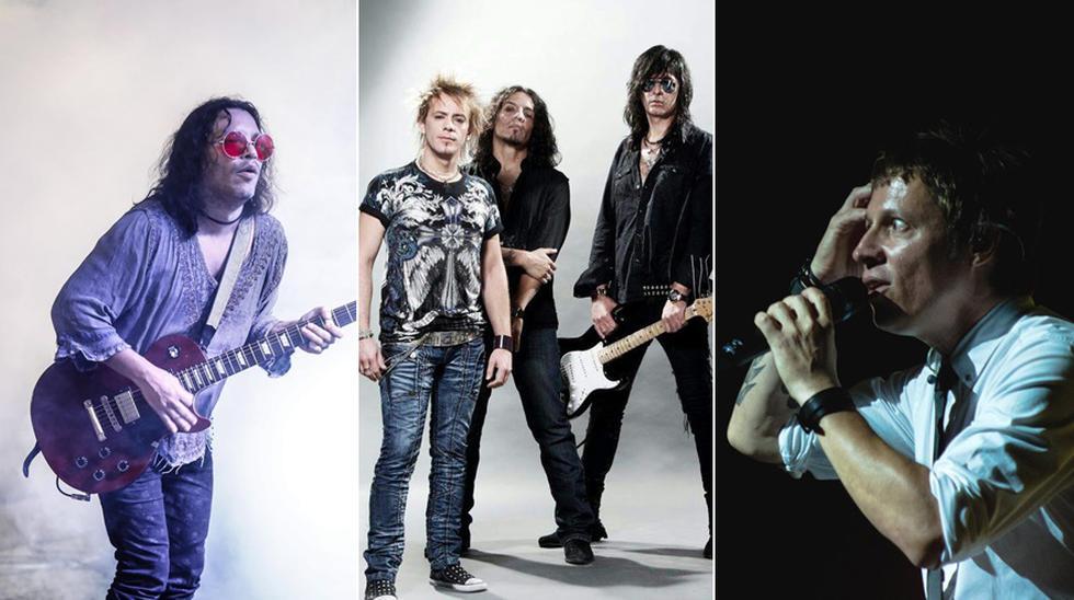 Amén, Rata Blanca y Libido suelen ser infaltables en el Vivo X el Rock. (Fotos: Difusión)