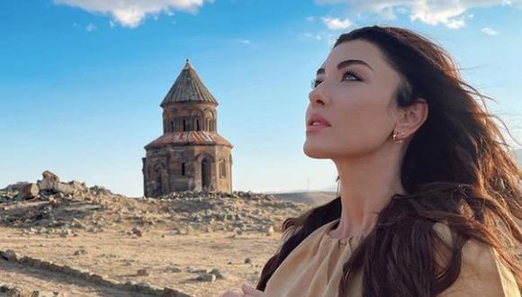 """Una de las actrices que protagonizará  el show es Aslihan Güner, famosa por dar vida al personaje de Yildiz en """"Estrella de amor"""" (Foto: Aslihan Güner / Instagram)"""