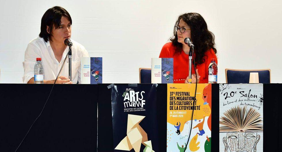 """Luis Francisco Palomino presentó en Luxemburgo """"Nadie nos extrañará"""" (Animal de Invierno, 2019)."""