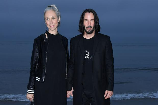Alexandra Grant and Keanu Reeves have been friends for almost 10 years.  (Photo: AFP)