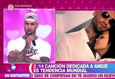 Jota Benz confiesa que Angie Arizaga es su prometida