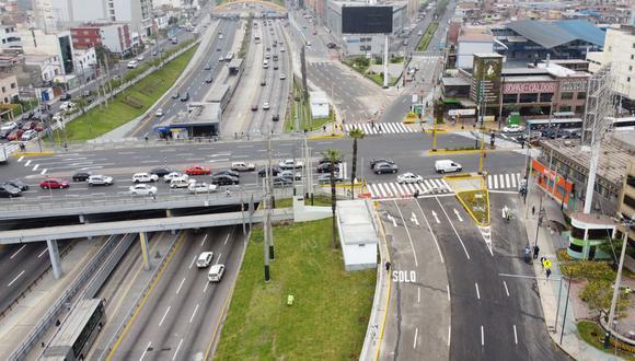 La obra, que ha significado una inversión superior a los S/3 millones, beneficiará a más de 350 mil ciudadanos que viven o transitan a diario por el lugar. (Foto: Municipalidad de Lima)