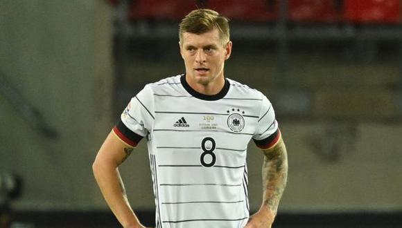Toni Kroos se perdió el inicio de las Eliminatorias Qatar 2022 por la una lesión. (Foto: AFP)