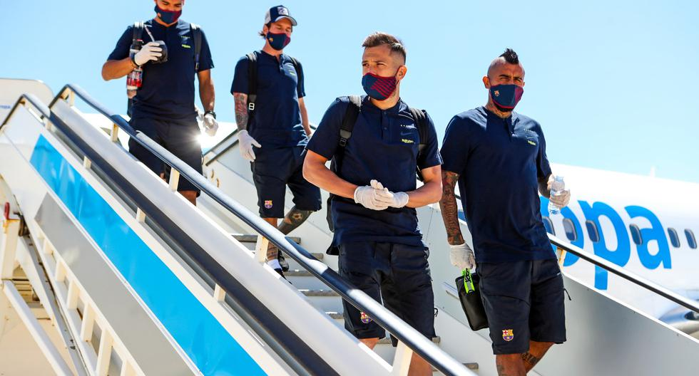 Barcelona llegó a Mallorca para enfrentar al equipo local en el reinicio de LaLiga. (Foto: FC Barcelona)