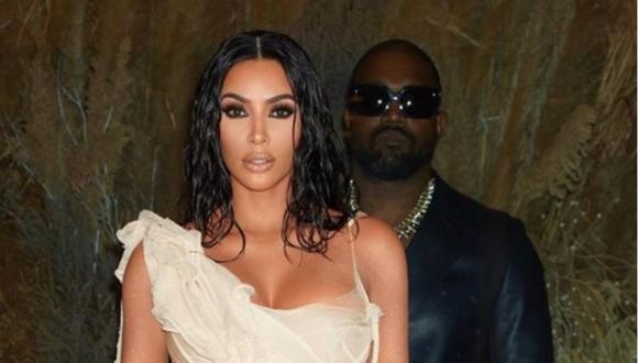 """Kim Kardashian estaría """"intentando arreglar las cosas"""" con Kanye West con terapia matrimonial. (Foto: @kimkardashian)"""