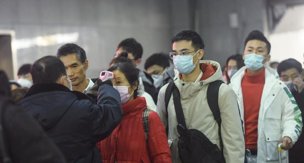 En China se han incrementado las medidas de control para detectar el coronavirus de Wuhan en las personas. Foto: AFP