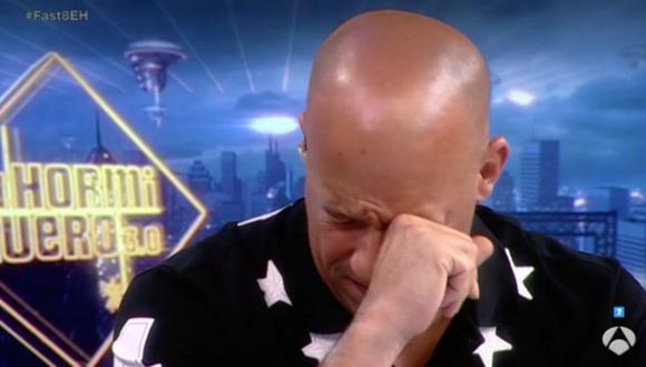 Vin Diesel, conmovido al recordar a Paul Walker en tv española
