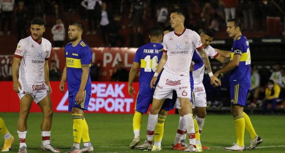 Resultado Boca - Huracán online por la Liga Profesional Argentina | DEPORTE-TOTAL | EL COMERCIO PERÚ