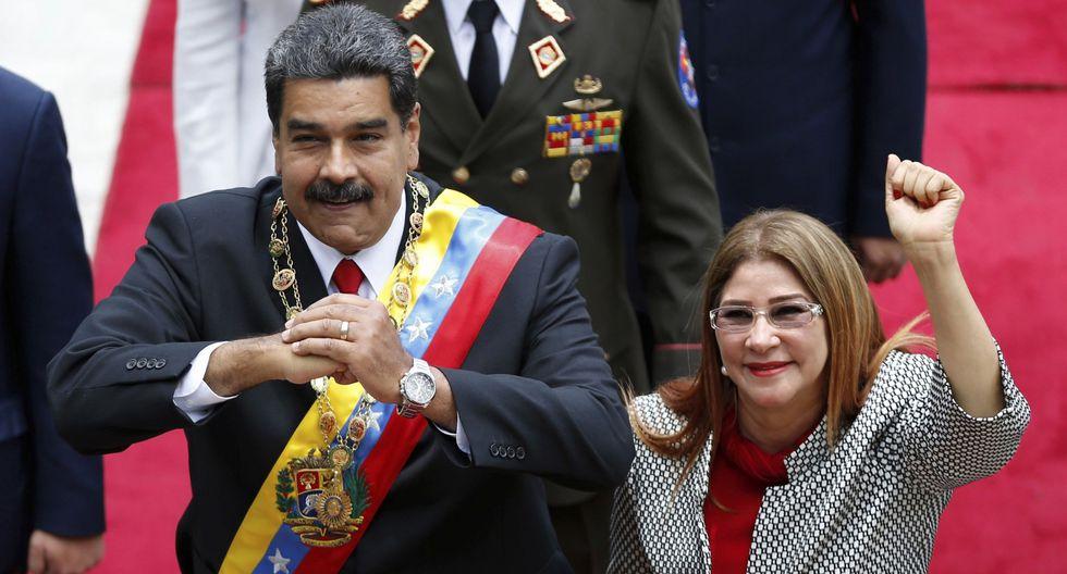 Estados Unidos sanciona a Cilia Flores, la esposa de Nicolás Maduro. (AP).