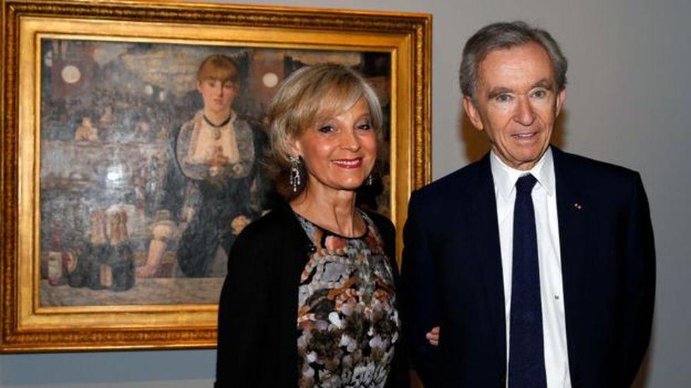 Bernard Arnault también es un gran amante del arte. Foto: Getty images, vía BBC Mundo