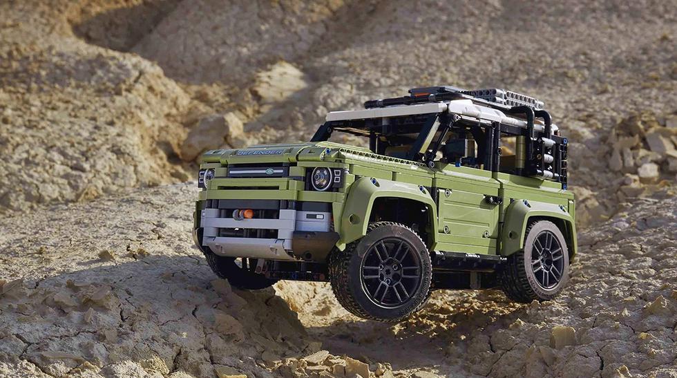 El set de piezas Lego del Land Rover Defender incluye un total de 2.573 bloques armables. (Fotos: Lego).