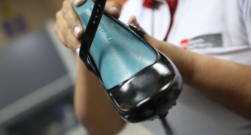 Los especialistas recomendaron usar calzado de cuero. (ITP)