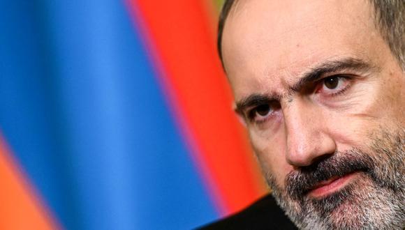 El primer ministro armenio, Nikol Pashinyan, denunció este jueves un intento de golpe de Estado militar. (Foto: AFP).
