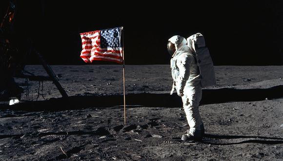 Houston, 20 (Reuter). Neil Armstrong, astronauta norteamericano, se convirtió hoy en el primer ser humano que pisa el suelo de otro cuerpo celeste. AFP PHOTO / NASA (Photo by HO / NASA / AFP)