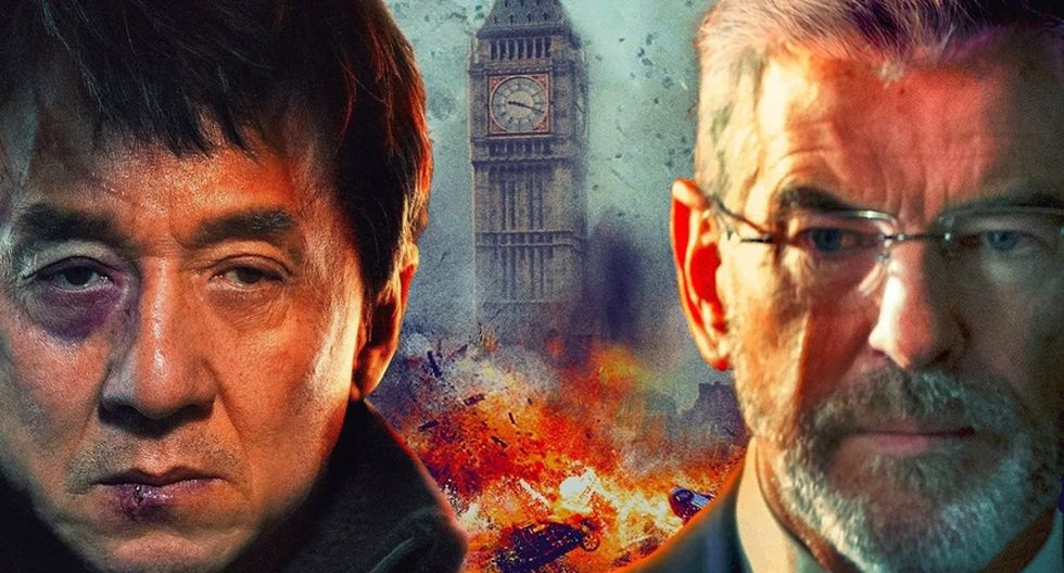 """Detalle del póster de """"El extranjero"""", protagonizada por Jackie Chan y Pierce Brosnan. (Foto: Difusión)"""