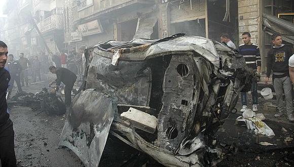 Siria: Coche bomba mata de manera accidental a 29 rebeldes